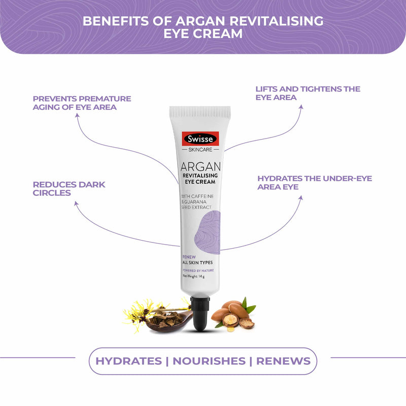 Swisse Argan Revitalising Eye Cream 15Ml