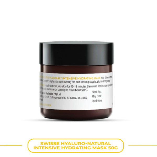 Swisse Hyaluro-Natural Intensive Hydrating Mask 50Gm