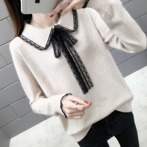 Cheap wholesale 2019 new autumn winter Hot selling women's fashion casual warm nice Sweater BP303