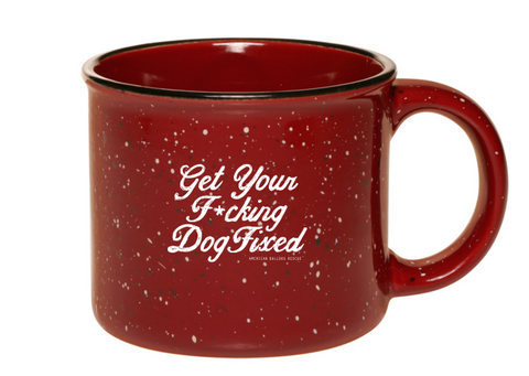 Fix Your Dog Campfire Style Mug