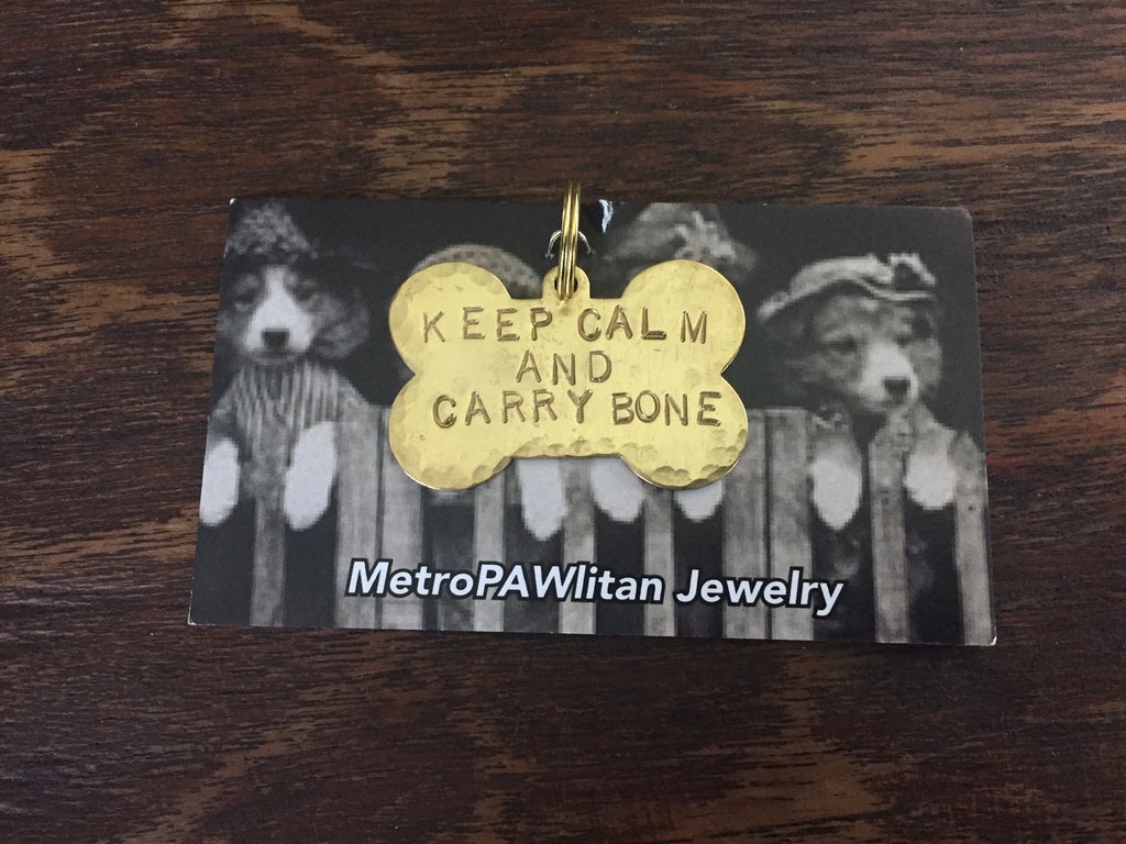 Keep Calm and Carry Bone
