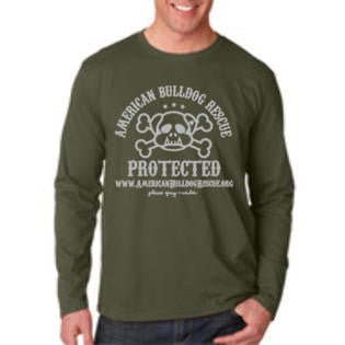 ABR Protected Long Sleeve T in Military Green