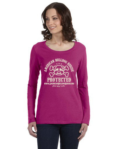 ABR Protected Long Sleeved T in Raspberry for Women