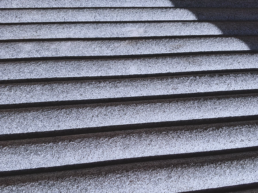 Natural stone steps Miles Stone