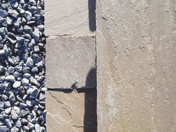 150mm X 150mm Bronte Indian Sandstone Edging Setts