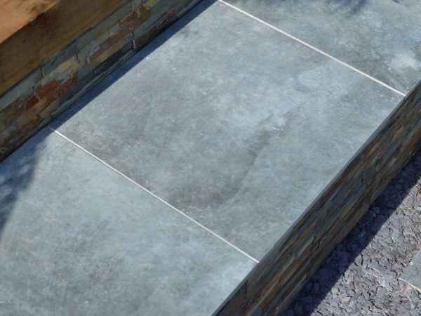 Acton Blue Modular Porcelain Paving