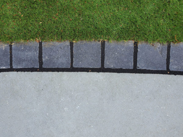 Black Limestone Setts 100mm X 100mm