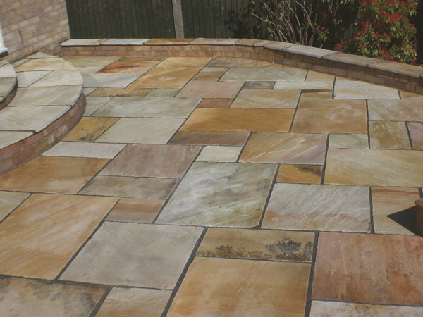 Mint Indian Sandstone Paving
