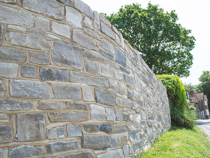 Purbeck Cropped Walling Stone (Split-Faced)
