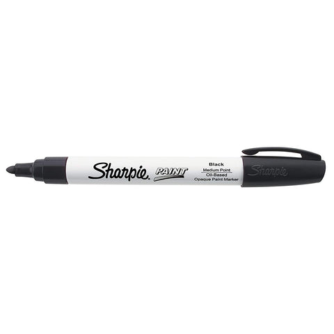 Sharpie 35549 Oil Based Medium Point Black Markers, 2 Boxes of 12 for 24 Markers