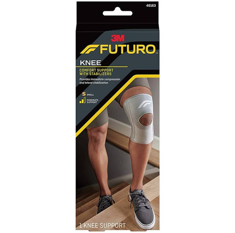 3M Futuro Knee Comfort Support with Stabilizers,  Moderate Support