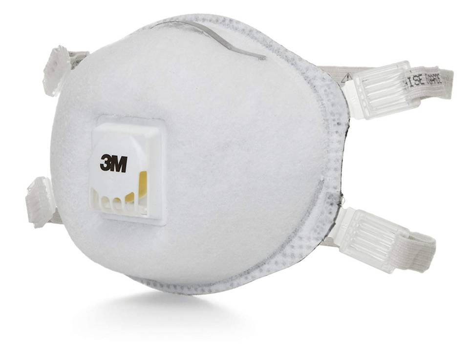 3M 8514 N95 Particulate Respirator, with Nuisance Level Organic Vapor Relief