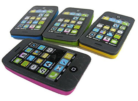 LuPro iPhone Fun Eraser Set - 4 Pieces