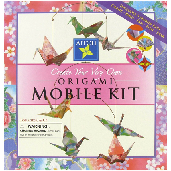 Aitoh Origami Mobile Kit Make 5 Origami Mobiles Mo Kit The