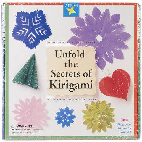 Aitoh KG-KIT Unfold of the Secrets of Kirigami Paper Kit