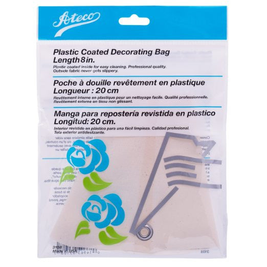 Ateco 3108, 3110, 3112, 3114, 3116, 3118, 3121, 3124 Plastic Coated Decorating Bag