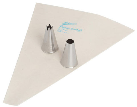 Ateco 1465 Pastry Decorating Tip, Set of 3