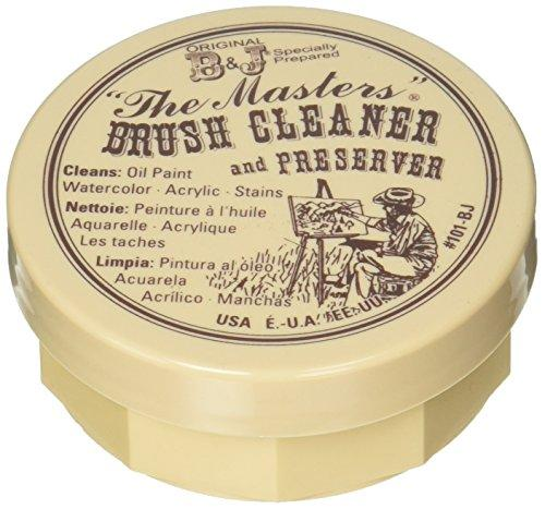 General Pencil 105-BP The Masters Brush Cleaner & Preserver 2.5 Ounces