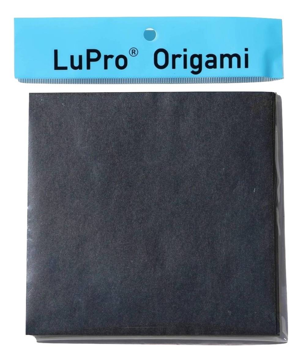 LuPro Japanese Stiff Solid Color Origami Paper (6 inch, 100 Sheets)
