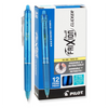 Pilot FriXion Clicker Retractable Erasable Gel Pens, Fine Point Turquoise Ink (31456)
