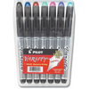 Pilot Varsity Disposable Fountain Pens, 7-Pack Pouch, Assorted Color Inks (90029)