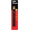 Sharpie Peel-Off China Markers, 2 Black Markers (2173PP)