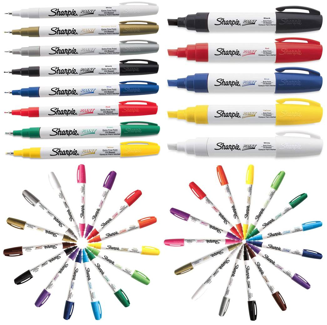 Sharpie Oil-Based Paint Markers, Full Set of 43