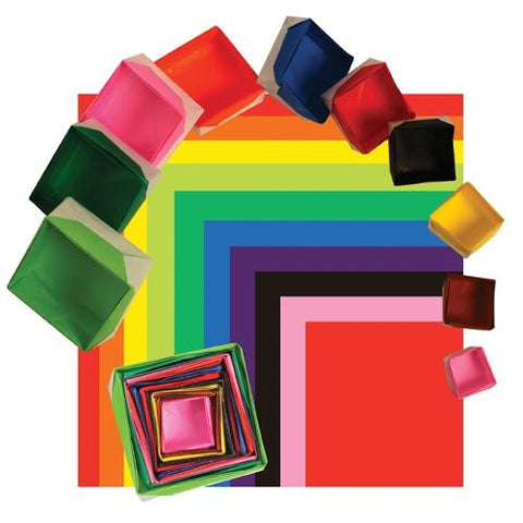 Aitoh TS-200 10 Color in 10 Sizes of Origami Paper