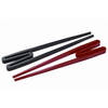 Typhoon Easy-to-Use Rookie Chopsticks - Pair of Red and Black