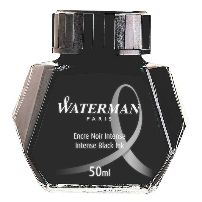Waterman 50ml Bottled Ink for Fountain Pens