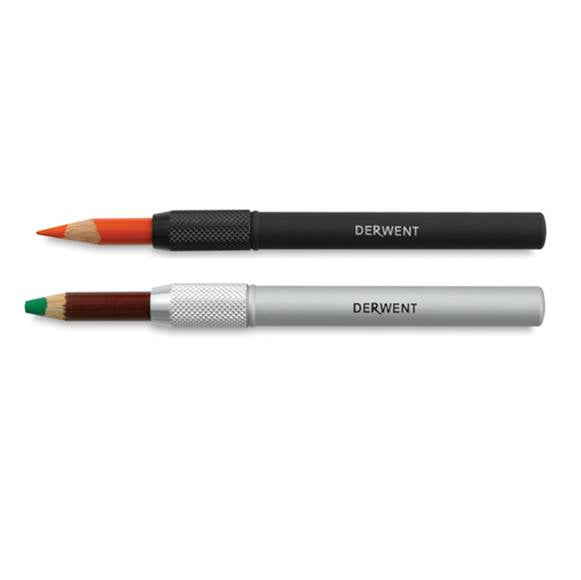 Derwent 2300124 Pencil Extenders Screw Fitting and Soft Touch Coating
