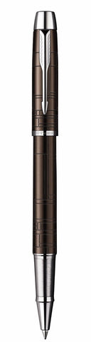Parker IM Premium Rollerball Pen, Medium Point, Metallic Brown (1795281)