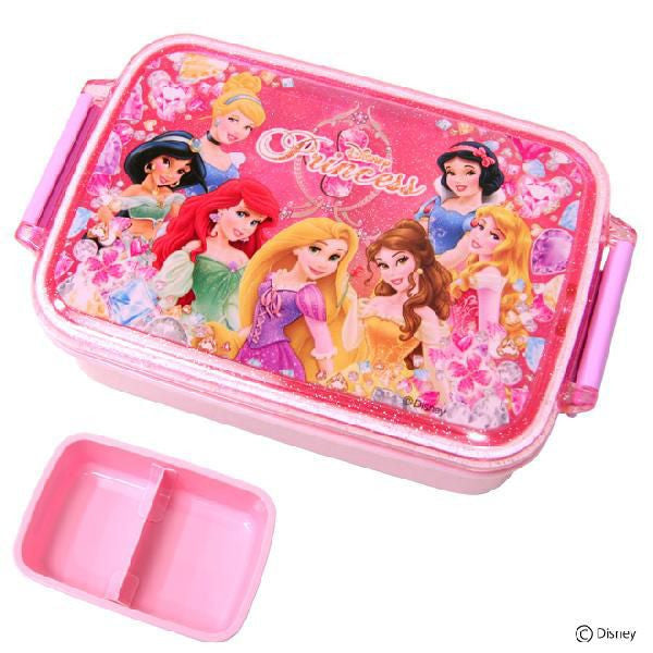 Skater Licensed Disney Princess Microwavable Bento Lunch Box