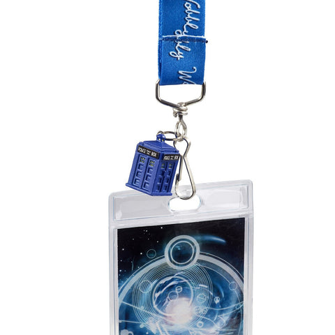 Underground Toys Doctor Who Bow Ties Are Cool Lanyard with 2D Matt Smith Charm (DW00941)