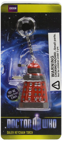 Underground Toys Doctor Who Red Dalek Mini Torch LED Keychain (DR90)