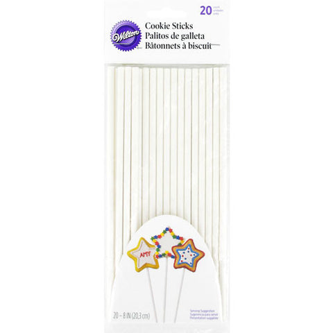 Wilton Cookie Treat Sticks, 20-Count