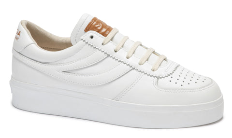 Superga 2850 Seattle Comfleaw - White Brown Bronze