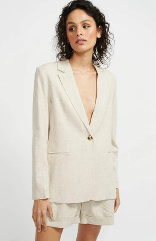 8480 Staple The Label Anouk Blazer - Natural Marle