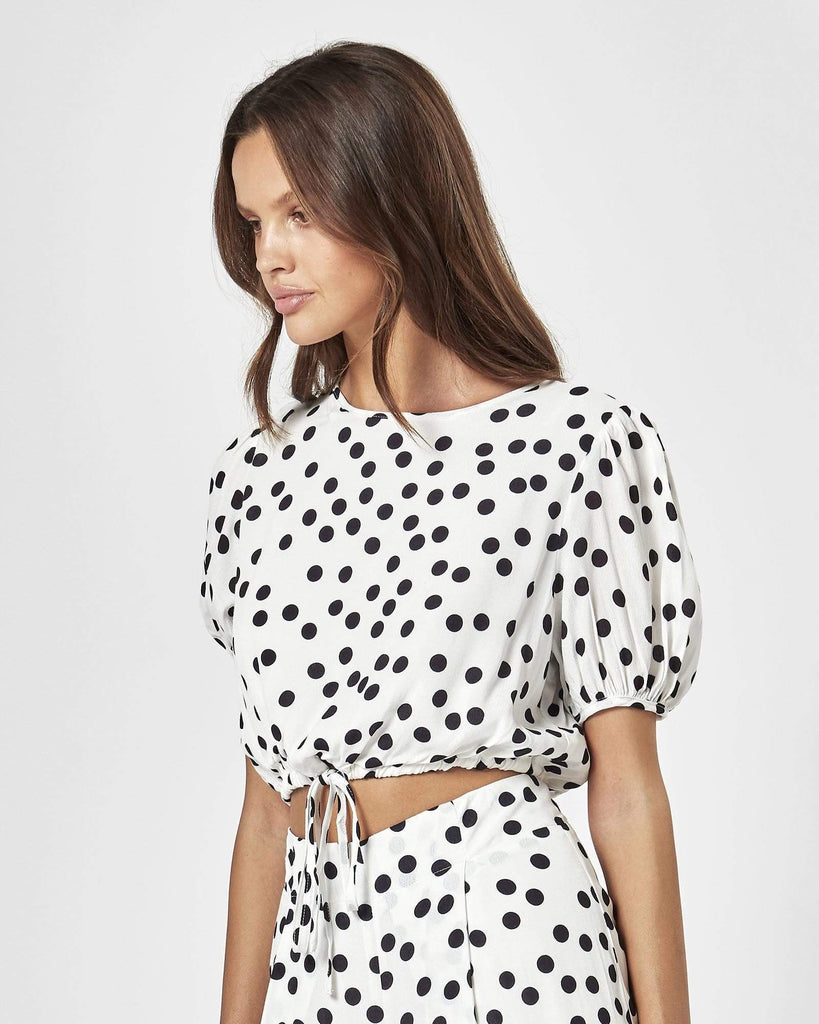 Charlie Holiday Holiday Top - Polka Dot