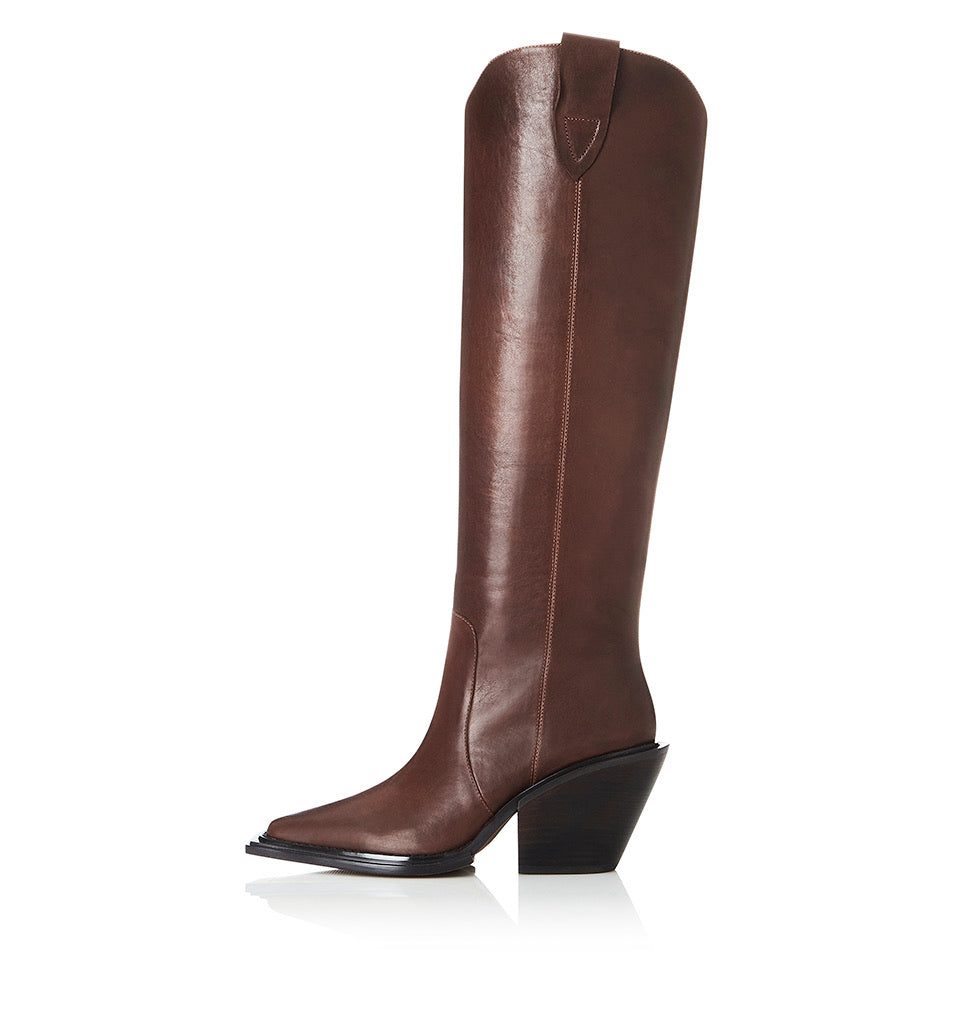 Alias Mae Jos Chocolate wax boot