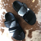 James Smith Izano Slide - Black