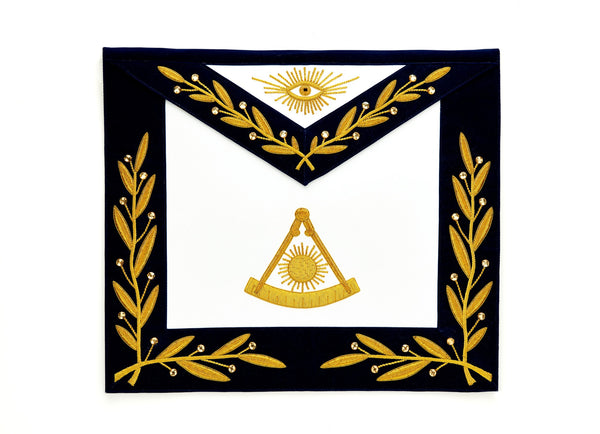 Past Master Gold Embroidered Apron