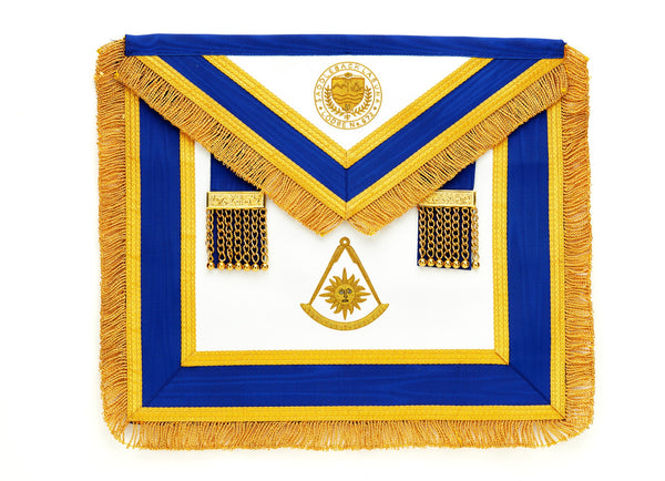 Past Master Apron Custom Design with Logo