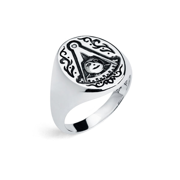 "Past Master Ring ""Chevalier"""