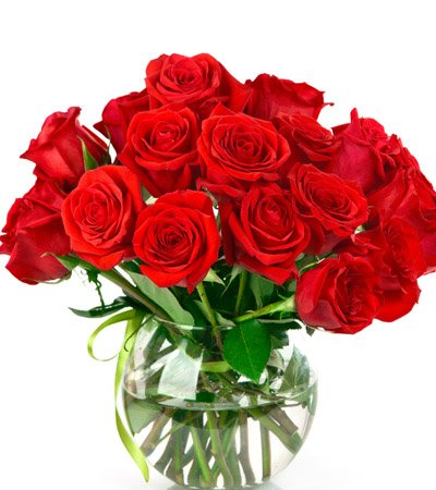 20 Stem Red Roses.