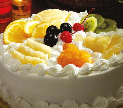 5 Star Fresh Fruit Cake - 1 KG (The Taj / Radisson blu / JW marriot / Any other equivalent to 5-Star Bakery)