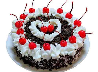 Delicious Black Forest Cake (1 KG)