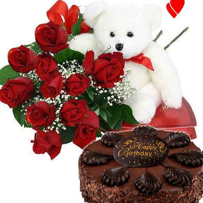 Huggable teddy bear (12 inched tall) 