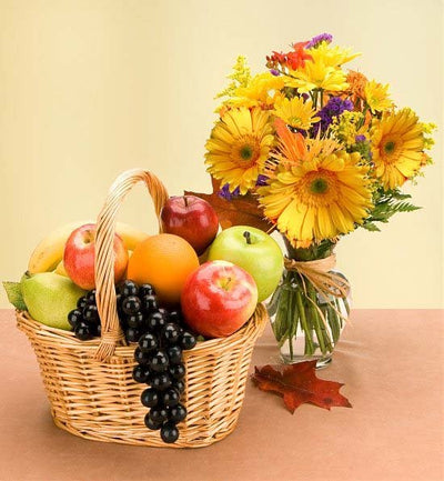 6 KG Fresh Fruits Basket (Seasonal Fruits) 