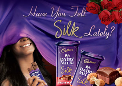 4 Cadbury silk (69 gm each)